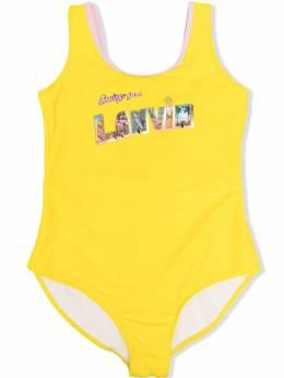 Lanvin Enfant купальник с логотипом N17000
