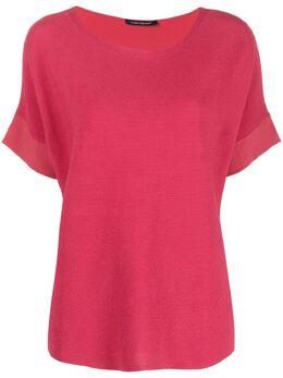 Luisa Cerano футболка с U-образным вырезом 1388805866