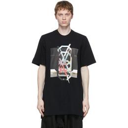 Julius Black NILoS Jersey Print T-Shirt 740CPM3