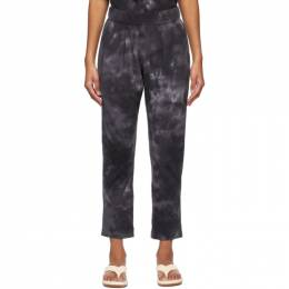 Raquel Allegra Black Tie-Dye Camo Easy Lounge Pants Y211-1763TD