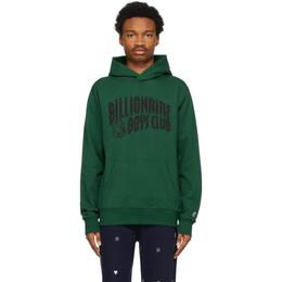 Billionaire Boys Club Green Arch Logo Hoodie B21133