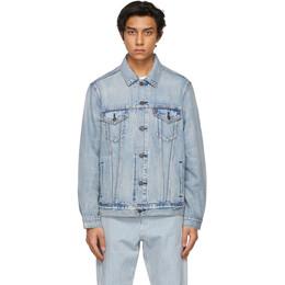Levi's Blue Denim Vintage Fit Trucker Jacket 77380-0014