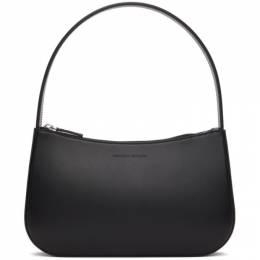 Kwaidan Editions Black Faux-Leather Lady Bag SS21XB014_LE LEATHER