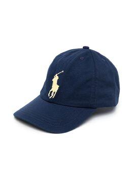 Ralph Lauren Kids кепка с вышитым логотипом 323785654