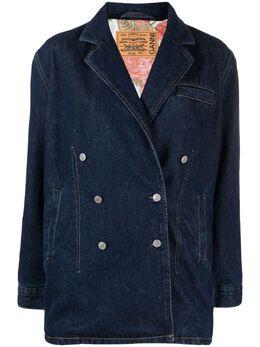 Ganni двубортная куртка из коллаборации с Levi's F6085