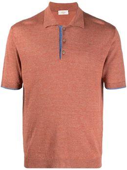 Altea фактурная рубашка поло с короткими рукавами 2151071