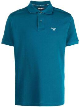 Barbour рубашка поло Tartan Piqué с вышитым логотипом MML0012MML