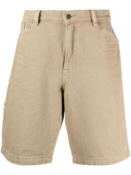 Diesel джинсовые шорты прямого кроя A025780HBAT