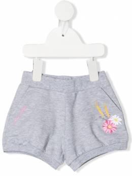 Monnalisa шорты с цветочной вышивкой 397416RE7001