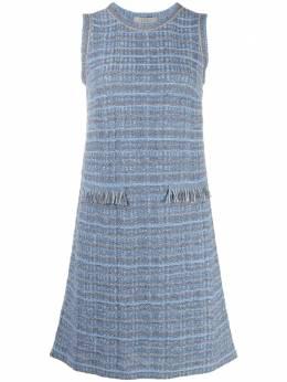 D'Exterior твидовое платье-трапеция 52415
