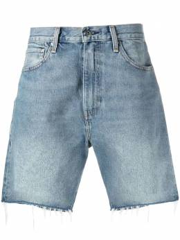 Levi's: Made&Crafted джинсовые шорты с эффектом потертости 84592