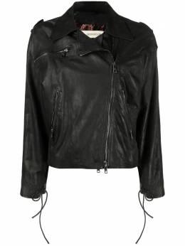 Giorgio Brato байкерская куртка GD20S9512VBRUSH