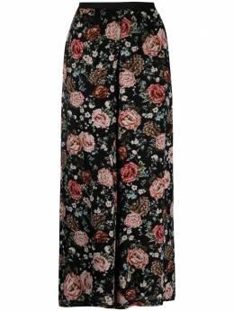 Antonio Marras широкие брюки с цветочным принтом LB3005D10S1