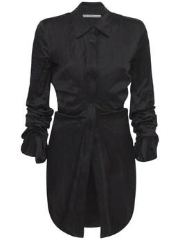 Удлиненная Рубашка По Фигуре Alexander Wang 73IM15034-MDAx0