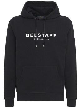 Свитшот Из Хлопка С Логотипом Belstaff 73I3GB015-MDkxMDA1