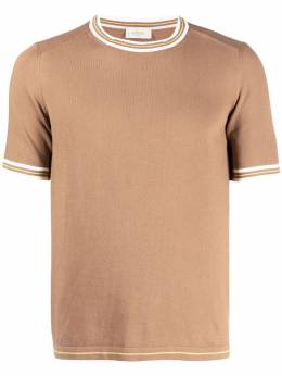 Altea футболка с отделкой в полоску 2151153