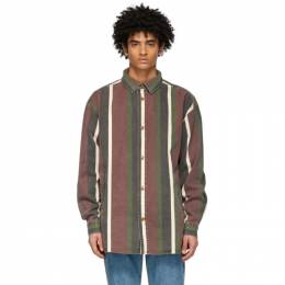 Han Kjobenhavn Burgundy Boxy Shirt M-130358