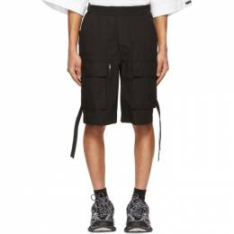 Juun.J Black Gurkha Pocket Shorts JC1525P3A5