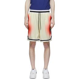 John Elliott Multicolor Alien Game Shorts C033M23727A