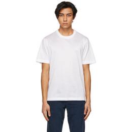 Brioni White Logo T-Shirt UJCA0L PZ600