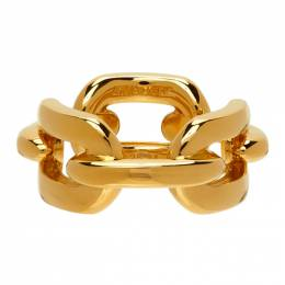 Ambush Gold Chain Ring BMOC014S21MET0047600