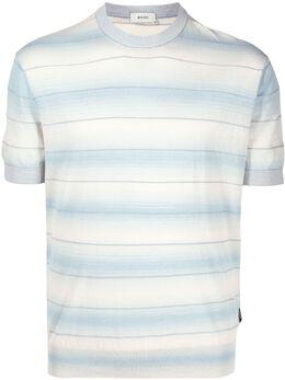 Z Zegna футболка в полоску VWR10ZZ112