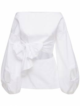 Рубашка Из Хлопкового Поплин Rosie Assoulin 73IXY7014-MTAw0