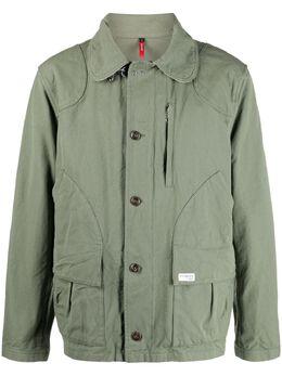 Fay куртка в стиле колор-блок NAM0342101LTJ1
