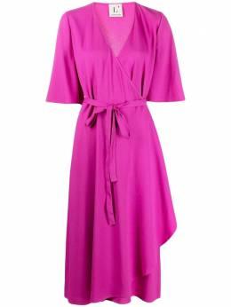 L'Autre Chose платье миди с запахом B2511030022
