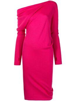 Tom Ford платье-свитер с приспущенными плечами ACK145YAX087