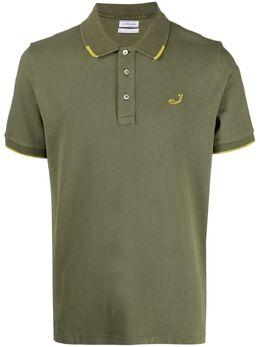 Jacob Cohen рубашка поло с вышитым логотипом j403700188v721