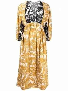 Tela платье в стиле ампир с цветочным принтом 010017010168
