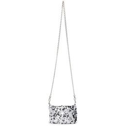 Junya Watanabe Silver Mini Sequin Shoulder Bag JG-K203-051