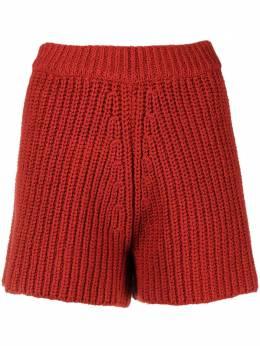 Alanui шорты крупной вязки с завышенной талией LWHM013S21KNI0012929