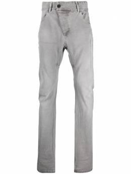 11 By Boris Bidjan Saberi джинсы кроя слим с завышенной талией P1CF1481