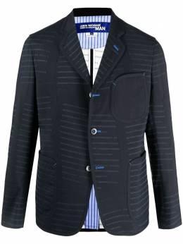 Junya Watanabe Man пиджак с декоративной строчкой WGJ002