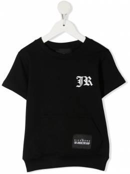 John Richmond Junior футболка с логотипом RBP21035FE