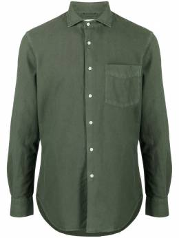 Aspesi рубашка с нагрудным карманом CE52L551TL