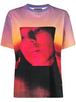 Kwaidan Editions футболка с графичным принтом ss21wt079w