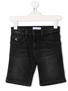 Calvin Klein Kids джинсовые шорты кроя слим IB0IB00416