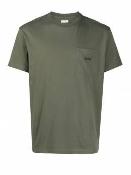 Woolrich футболка с вышитым логотипом WOTE0047MRUT1486