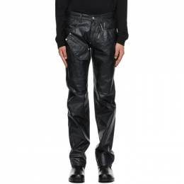 1017 Alyx 9Sm Black Moonlit Cargo Jeans AAMPA0199FA01.S21
