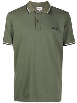 Woolrich рубашка поло с полосками WOPO0029MRUT2144