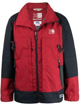 Junya Watanabe Man куртка с рюкзаком из коллаборации с Karrimor K-way WGJ90410012