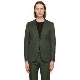 Isaia Green Capri Blazer C21GFI 95679
