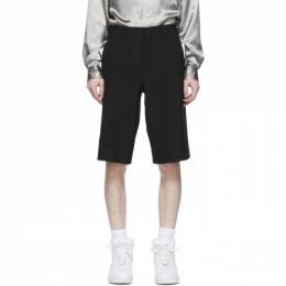 Comme Des Garcons Homme Plus Black Tropical Wool Shorts PG-P044-051
