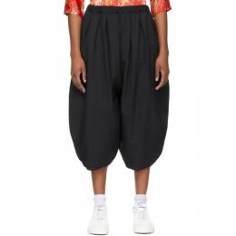 Comme Des Garcons Comme Des Garcons Black Wool Balloon Trousers RG-P003-051