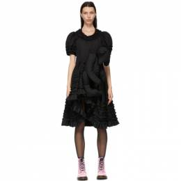 Comme Des Garcons Girl Black Teddy Bear Dress NG-O001-051
