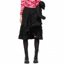Comme Des Garcons Girl Black Teddy Bear Skirt NG-S001-051