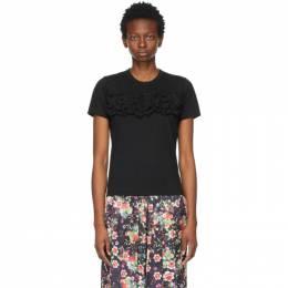 Comme Des Garcons Comme Des Garcons Black Chest Frills T-Shirt RG-T016-051